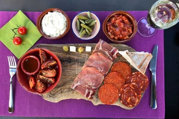 Tapas & Sangria or Wine & Cheese Cruise